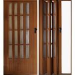 Складная дверь Гармошка (остекленная)