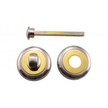Завертка сантехническая WC SN-GP (Матовый никель/Полированное золото)